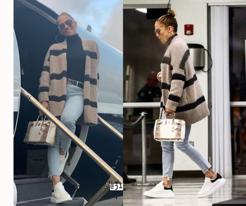 Travel With Fashion JLo Outfit