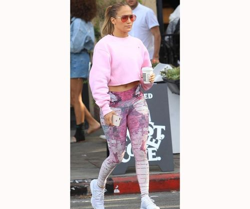 Pretty In Pink JLo Outfit