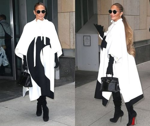 JLo Winter Style Outfit