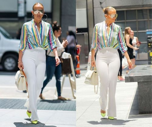 Summer JLo Outfit