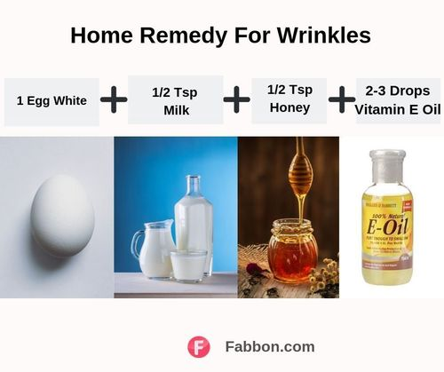 Wrinkles home remedy (5)
