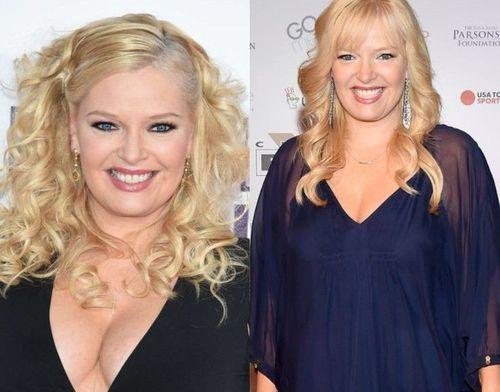 Melissa Peterman weight loss journey