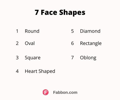 face shapes types