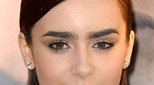 Eyebrows for Heart face shape