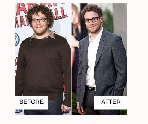seth rogen weight loss-
