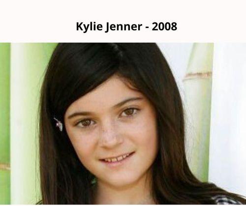 Kylie jenner 2008