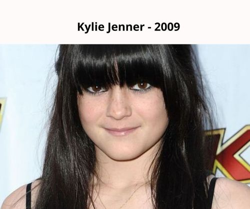 Kylie jenner 2009