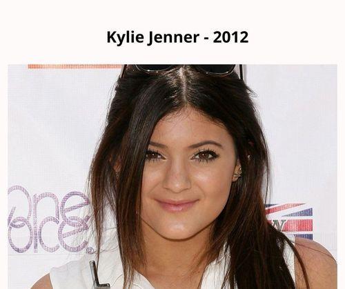 Kylie jenner 2012
