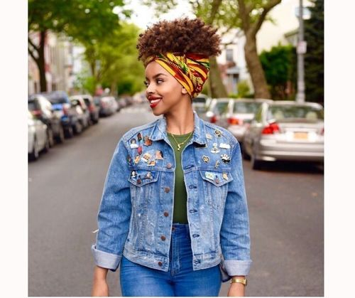 Stunning Afro Hairstyles With Bandana