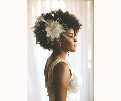 Afro Hairstyles For Wedding