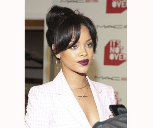 _Rihanna Hairstyles For Black Women