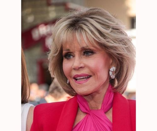 The jane Fonda hairstyle