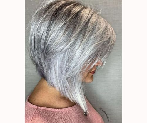 Layered asymmetric bob