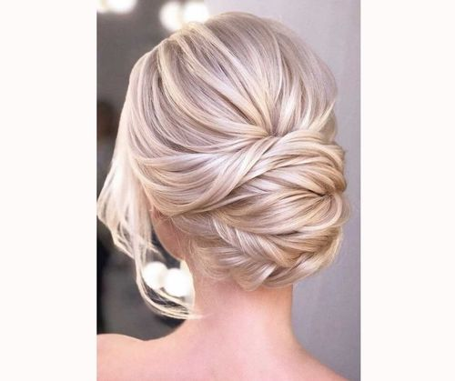 Elegant Bridesmaid Bun