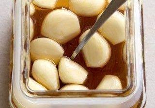 4 garlic and honey