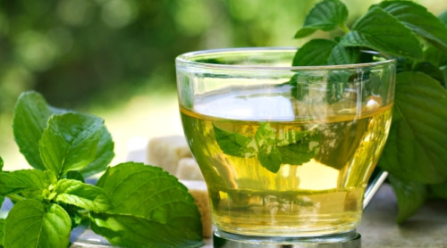 8 peppermint and ginger tea