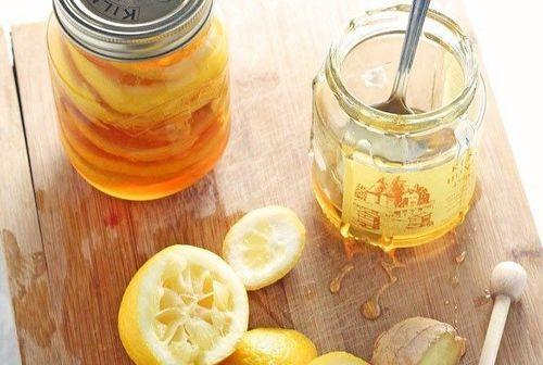 12 Honey and lemon
