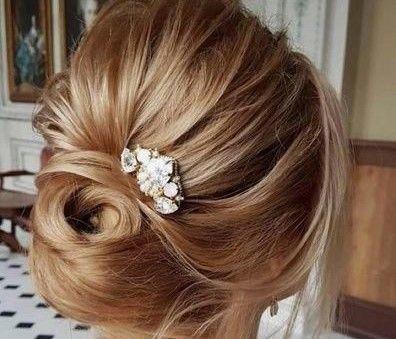 11 Bejeweled elegant updo