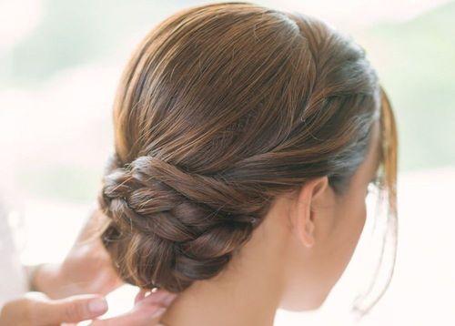 22 Chic braided chignon