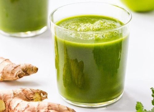 5 Ginger kale smoothie
