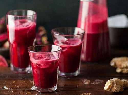 9 beetroot juice
