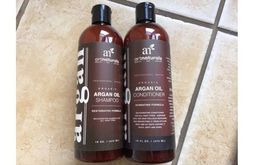 7 Art Naturals argan oil shampoo and Condition