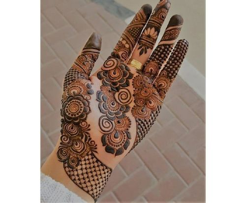 1 new mehndi design