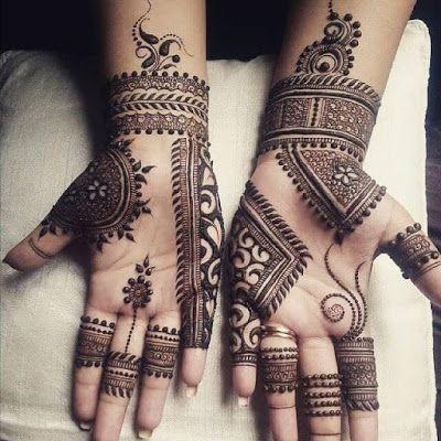 51 Best Front Hand Mehndi Designs